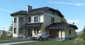 проекты домов, проекты двухэтажных домов, проект дома
